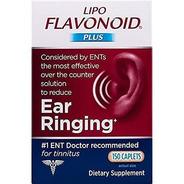 Lipo Flavonoid Plus Para Zumbido Nos Ouvidos 150 Caplets