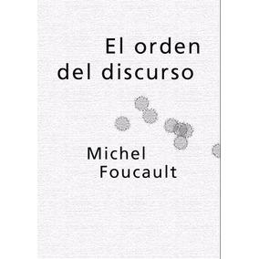 Libro: El Orden Del Discurso - Michel Foucault - Pdf