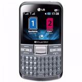 Celular Lg C199 Dual Chip Wi-fi+3g Bluetooth Qwerty Novo