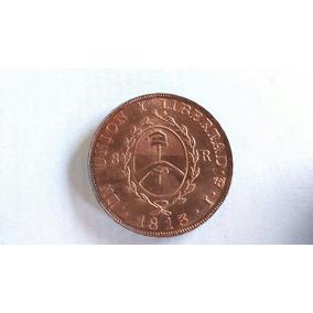 Primer Moneda Patria 8 Reales