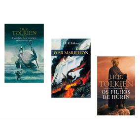 Livros Contos Inacabados + Silmarillion + Filhos De Húrin #