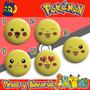 Mi Tacita - 100 Pines O Llaveros Personalizados Pokemon