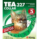 Collar Anti Pulgas Y Garrapatas Tea De Dominal Gatos