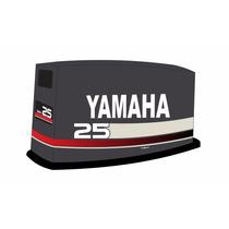Adesivo Motor De Popa Yamaha 25 Hp Ano 1996