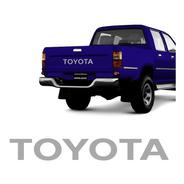 Faixa Toyota Hilux 1999 Até 2005 Adesivo/emblema Traseiro
