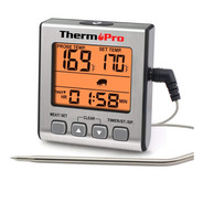 Termómetro Digital Con Sonda Thermopro Tp16 Carnes Timer