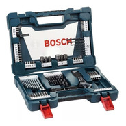 Jogo Kit De Ferramentas Brocas Titânio V-line Bosch 83 Pecas