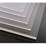 Placa De Acrilico Colado Transparente Cristal-10mm-1220x2440