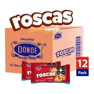 Roscas De Canela Caja 12/180g - Galletas Dondé