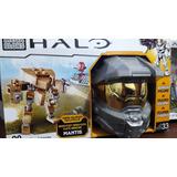 Mega Bloks Halo Micro Flota Mantis+figura Adicional+armas