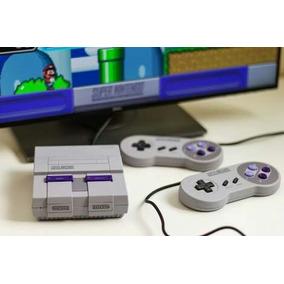 Super Nintendo Classic Edition 500 Jogos 2 Controles Infanto