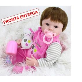 Boneca Bebê Reborn Larinha Pronta Entrega Frete Grátis