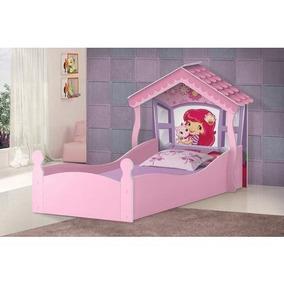 Cama Casa Infantil 150x70 Com Colchão P/ Menina - Lojas Movz