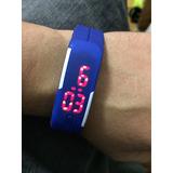 Relógio Digital Sport Pulseira Silicone Compre 5 Ganhou 1