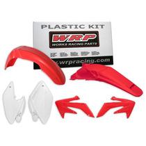 Kit Plásticos Honda Crf 250x 2004-2016 Wrp Cor Original