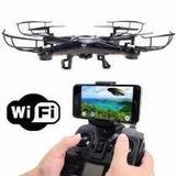 Drone Quadricoptero Com Camera Wifi Fpv Transmissão Ao Vivo