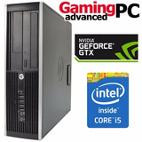 Pc Gamer Core I5 Gtx 1050 Ti 4gb Gddr5 Ram 8gb Ssd 250gb W10