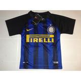 Conjunto Inter Italia Niños (camiseta - Short)