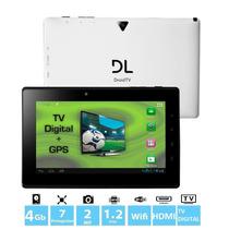 Tablet Dl Droid Tv Dr-t71 4gb 1gb Ram 1,2ghz Hdmi Câmera Gps