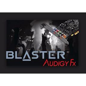 Placa Som Creative Sound Blaster Audigy Fx - Pcie 5.1 O E M