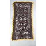 Tapete De Croche Quadrado Em Barbante N 08