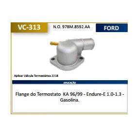 Carcaça Tampa Valvula Termostatica Ka 97/ Motor Endura