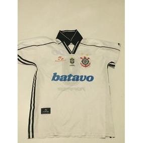 Camisa Corinthians Oficial 1999 Topper L G 8358853212eef