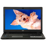 Notebook Acer 17 Hd Quad Core 4gb 500gb Dvd Zonalaptop