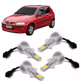 Kit Super Led Celta 2000 2001 2002 2003 Farol E Milha 6000k