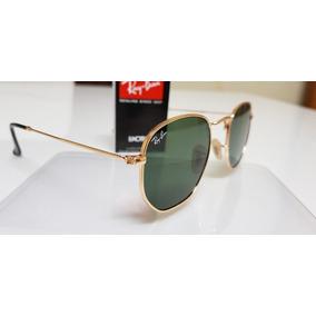 Óculos De Sol Ray Ban Round Metal Hexagonal - Óculos no Mercado ... e61aeef9a9