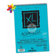 Block Canson Xl Aquarelle Tamaño A5 300 Gramos 20 Hojas