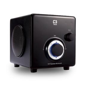 Caixa De Som 2.1 Bluetooth + Radio Sp-330b Bk C3 Tech