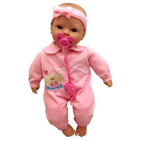 Boneca Bebê Recém Nascida Rosa Estilo Reborn - Divertoys