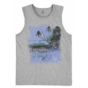Camisetas Regatas Caneladas Masculinas Hering - Camisetas Regatas ... a3d62e4502887