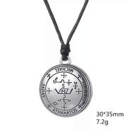 Collar Amuleto Talisman Saday Michael Athanatos Sabaoth