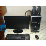 Computadora Completa Core Dos Duo C/monitor Led 20 Samsung