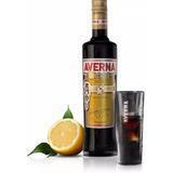 Averna Amaro Siciliano Italiano Con Vaso - Trescubiertos