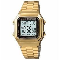 Relogio Classico A178 Retro Vintage Dourado Elegante Lindo