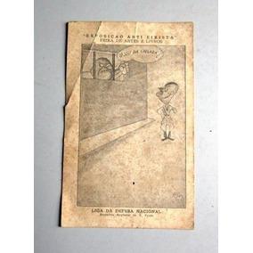 Cartão Exposição Anti-eixista - Liga Da Defesa Nacional