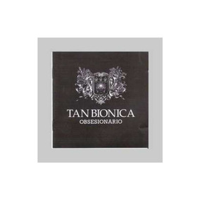Tan Bionica Obsesionario Cd + Dvd Nuevo