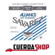 Cuerdas Guitarra Clásica Savarez 540j Tension Alta Alliance