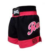 Shorts Calção Bermuda De Lutas Muay Thai Femino Rudel Sports