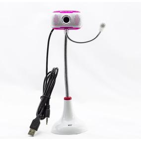 Webcam Pc Camera - Mrf - Com Microfone Cores Variadas
