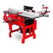 Máquina Combinada Carpintería 6 Funciones 3hp Extensible