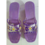 Sandalias Plasticas Para Dama Talla 37