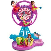 Polly Pocket Conjunto Parque Roda Gigante Açucarada Mattel