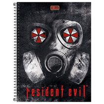 Caderno Resident Evil - Máscara Anti Gás - 10 Matérias - Ti