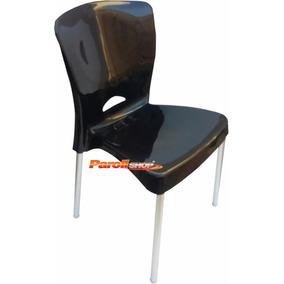 Cadeira Plastica Com Pes Em Aluminio - Ca3