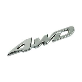 Emblema Traseiro Acessórios Toyota 4wd Hilux Rav4 Sw4