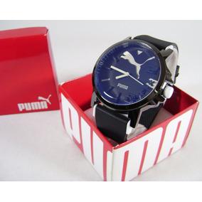 Reloj , P U M A . Nuevo Acero / Caucho Kngn15